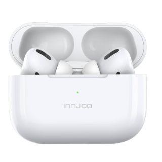 Auriculares Bluetooth Innjoo Go Pro White - Bt 5.1 Tws - Batería Auricular 35Mah - Estuche de Carga 400Mah - Cancelación de Ruido