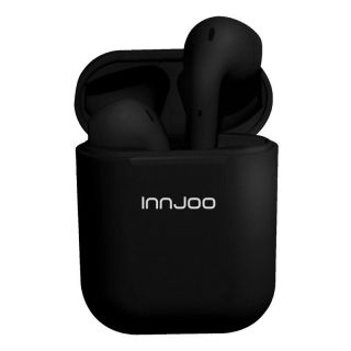 Auriculares Bluetooth InnJoo Go Black Bluetooth 5.0 TWS Color Negro