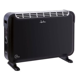 Convector Turbo Jata C214T - 2000W - 3 Potencias Calor (750-1250-2000W) - Termostato Regulable - Interruptor Función Turbo