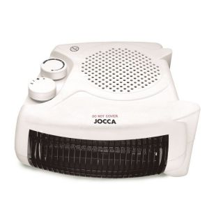 Calefactor Electrico Jocca 2826 - 2000W - 2 Posiciones Calor / 1 Frío - Selector Temperatura Regulable - Colocación Vertical/Horizontal