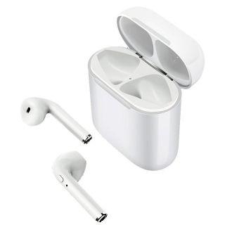 Auriculares Bluetooth Muvit Airpods Muhph0120 con Estuche de Carga/ Autonomía 8h/ Blanco