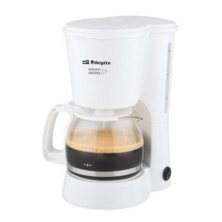 Cafetera de Goteo Orbegozo Cg 4012 - 650W - 6 Tazas - Filtro Permanente Extraible - Jarra Cristal Con Tapa