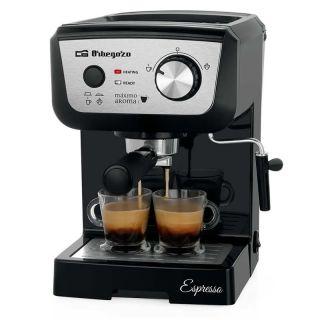 Cafetera Orbegozo Espresso Ex 5000 - 1050W - 20 Bar - Deposito de Agua 1.3L Extraíble - Permite Café Molido / Monodosis - Vaporizador