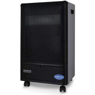 Estufa de Gas Llama Azul Orbegozo Hbf-90 - 4200W - Encendido Piezoeléctrico - Triple Sistema Seguridad
