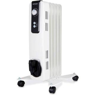 Radiador de Aceite Orbegozo Rh 1000 - 5 Elementos Caloríficos - 2*Potencias Calor (500-1000W) - Termostato Regulable - Ruedas Pivotantes