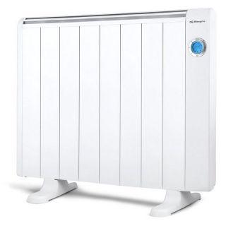 Emisor Térmico Orbegozo Rre 1510A - 1500W - 8 Elementos - Pantalla Lcd - Crono Termostato Digital - Aluminio - Pies Apoyo/Mando a Distancia Incluidos