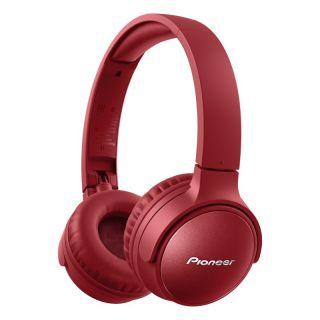 Auriculares Inalámbricos Pioneer Se-s6bn-r/ con Micrófono/ Bluetooth/ Rojo