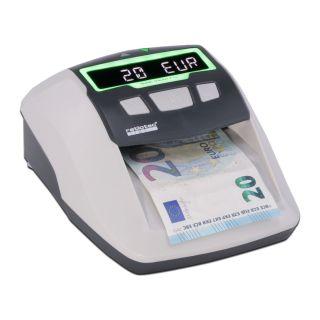 Detector de Billetes Ratio-Tec Soldi Smart Pro - para Euros/Libras/Chf - Detección Ir | Mg | Bm | Sd - Marco de Luz Y Señal Acústica - Actualizable