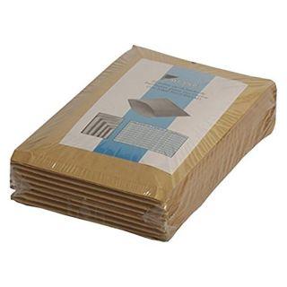 Paquete 100 Bolsas Acolchadas Sam 146093 con Plástico Burbuja - Interior 180x165mm - Exterior 190x170mm