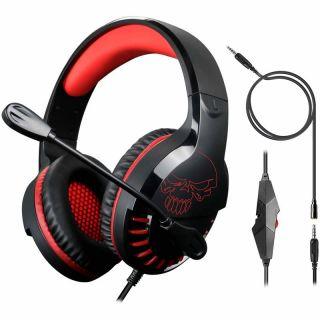 Auriculares Gaming con Micrófono Spirit Of Gamer Pro-sh3 Switch Edition/ Jack 3.5/ Rojo y Negro