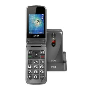 Teléfono Móvil Spc Stella para Personas Mayores/ Negro