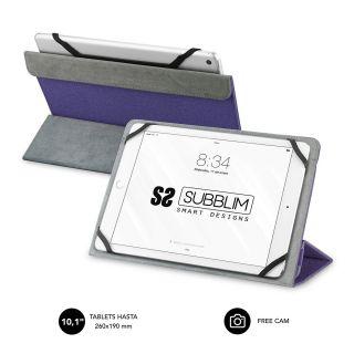 Funda Subblim Freecam para Tablets de 10.1'/ Purpura