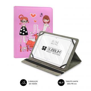 Funda Subblim Trendy Fashion Girls para Tablets de 10.1'