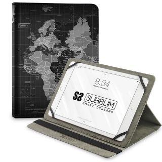 Funda Subblim Trendy Case World Map para Tablets de 10.1'