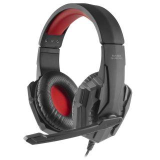Auriculares Diadema Con Micrófono Mars Gaming Mh020 - Drivers 40Mm - Micrófono Plegable - Conector Jack 3.5Mm - Cable 200Cm - Multiplataforma