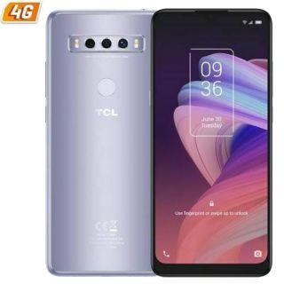 Smartphone Tcl 10 Se 4Gb/ 128Gb/ 6.52'/ Plata Helada