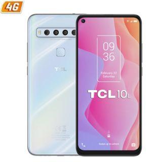 Smartphone Tcl 10L 6Gb/ 64Gb/ 6.53'/ Blanco