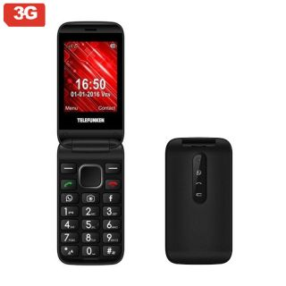 Teléfono Móvil Telefunken Tm 360 Cosi para Personas Mayores/ Negro