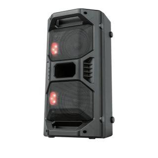 Altavoz Portátil Trust Klubb Go - 30W Rms - 60W Max Salida - Entrada Bt/Microsd/Aux 3.5Mm/Microfon/Usb -Luces Led Colores Rgb - Bat.Recargable