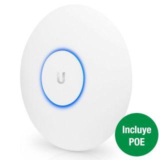 Punto de Acceso Ubiquiti Uap-Ac-Hd - Wifi A/B/G/N/Ac/Ac-Wave2 - 2X Ethernet 10/100/1000 - 2.4/5Ghz - 5Dbi - Montaje Pared Y Techo