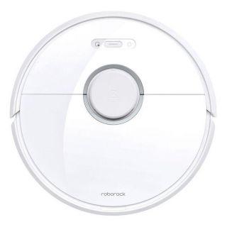 Robot Aspirador Xiaomi Roborock S6 Pure White - Aspira Y Friega - Succión 2000Pa - Mapeado Láser - Wifi -  Autonomía 2.5H - Batería 5200Mah - App Home