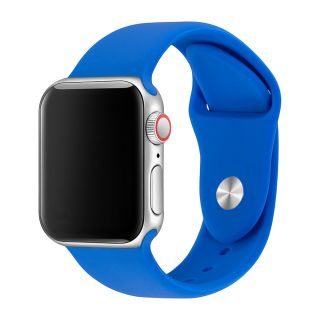 Correa Deportiva para Apple Watch 42/44 mm Apple Watch 3 Apple Watch Serie 5 Correa Silicona de Reloj Color Azul