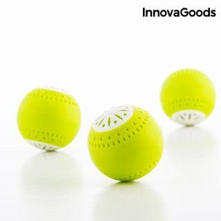 Ecobolas Para Frigorífico Innovagoods (Pack De 3)