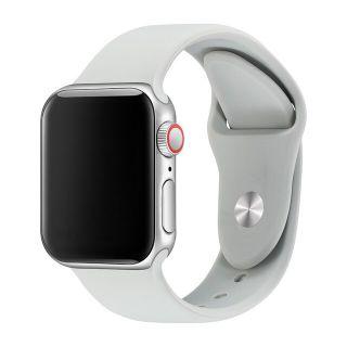 Correa Deportiva para Apple Watch 42/44 mm Apple Watch 3 Apple Watch Serie 5 Correa Silicona de Reloj Color Gris