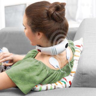 Masajeador de Cuello y Espalda Electromagnético 6 tipos de Masaje 2 electrodos para masaje  InnovaGoods