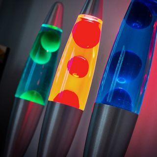 Lámpara de Lava Magma InnovaGoods 25W Color Azul