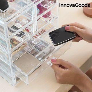 Organizador de Maquillaje Material Acrílico 7 cajones y 16 compartimentos InnovaGoods