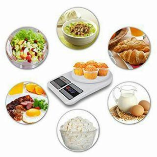 Báscula de Cocina Báscura de Cocina Balanza Alta Presión Peso De Cocina Digital Electronica 1g-5kg Para Pesar Alimentos