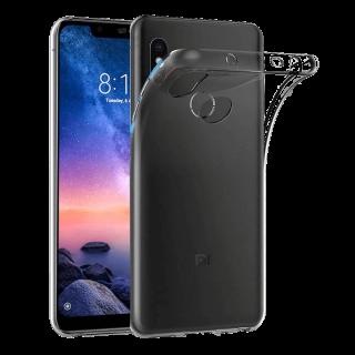 Xiaomi Note 6 Pro Funda Carcasa Transparente