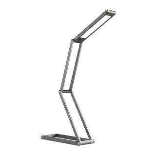 Lámpara LED Escritorio Creativa Plegable USB Lámpara de Mesa Portátil Recargable Protección para los Ojos Negro