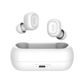 QCY T1C Auriculares Inalámbricos Bluetooth V5.0 Blanco