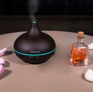 Humidificador Ultrasónico Cecotec Humidificador Pure Aroma 150 Yin 7 Colores LED Función Aromaterapia