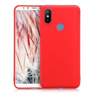Funda Redmi Note 6 Pro Color Rojo