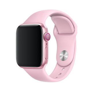 Correa Deportiva para Apple Watch 42/44 mm Apple Watch 3 Apple Watch Serie 5 Correa Silicona de Reloj Color Rosado