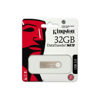 Pendrive Kingston DTSE9H 32 GB USB 2.0 Plateado Metal