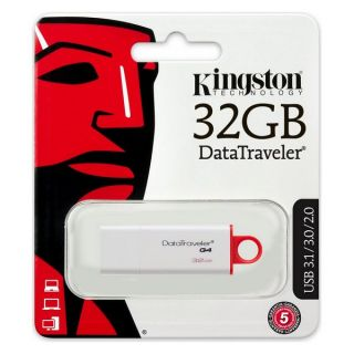 Pendrive Kingston FAELAP0240 DTIG4 32 GB USB 3.0 Blanco Rojo