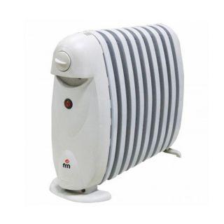 Radiador de Aceite (9 cuerpos) Grupo FM R9-MINI 800W Blanco