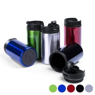 Vaso con Tapa (290 ml) 144880 Color Verde