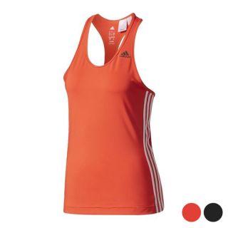 Camiseta de Tirantes Mujer Adidas D2M Tank 3S Color Rojo Talla L