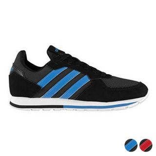 Zapatillas Casual Hombre Adidas 8 K Color Negro Talla Calzado 40 2/3