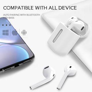 Auriculares Q8L TWS Bluetooth 5.0 Inalámbricos Calidad Premium Airpods Deportivos con Luces de Respiración