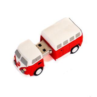 Pendrive 16GB Tech One Tech Hippy Van Bang Camper USB 2.0 Compatibiliadad Universal