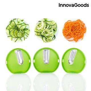 Cortador de Verduras en Espiral 3 en 1 InnovaGoods
