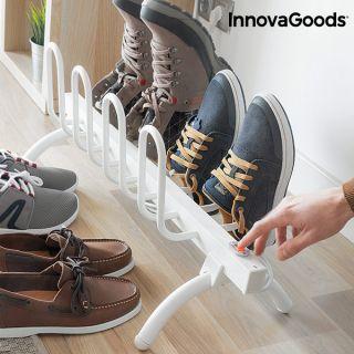 InnovaGoods Tendedero Secador Eléctrico de Calzado 80W Resistencia al agua