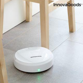 Robot Aspirador Inteligente para limpiar el suelo Rovac 1000 InnovaGoods Blanco Recargable Autonomía 80 min