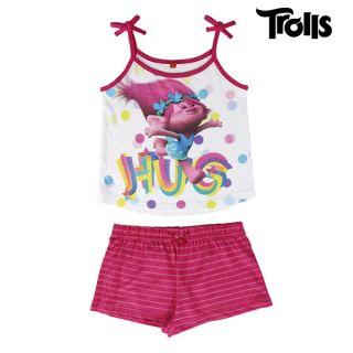 Pijama de Verano para Niñas Trolls Talla 6 Años